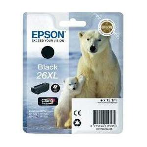 Epson Inktpatroon 26XL - Black High Capacity