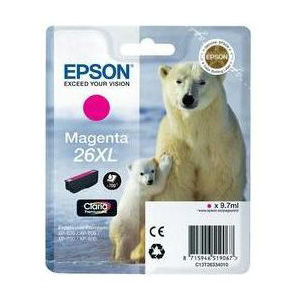 Epson Inktpatroon 26XL - Magenta High Capacity