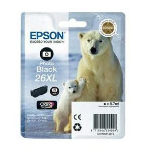 Epson Inktpatroon 26XL - Photo Black High Capacity