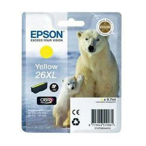 Epson Inktpatroon 26XL - Yellow High Capacity