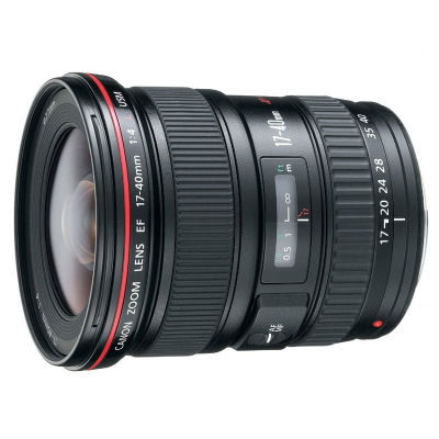 Canon EF 17-40mm f/4.0L USM objectief