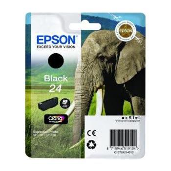 Epson Inktpatroon 24 - Black Standard Capacity
