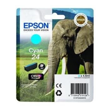 Epson Inktpatroon 24 - Cyan Standard Capacity