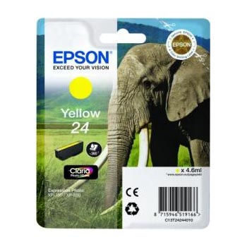 Epson Inktpatroon 24 - Yellow Standard Capacity