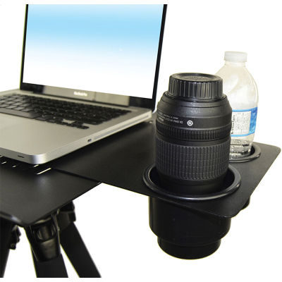 TechTables Air Flow - Dual Drink/Lens Holder