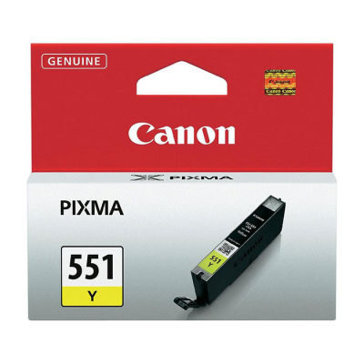 Canon Inktpatroon CLI-551 - Yellow