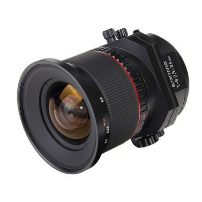 Samyang 24mm f/3.5 ED AS UMC tilt/shift Canon EF-mount objectief