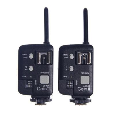 Godox Cells II Transceiver Canon - 2 stuks
