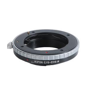 Kipon Lens Mount Adapter (Contax G (big geared) naar Canon M)