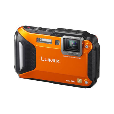 Panasonic Lumix DMC-FT5 compact camera Oranje