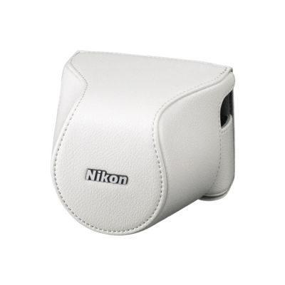 Nikon CB-N2200S Lederen Systeemtas Wit