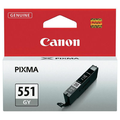 Canon Inktpatroon CLI-551 - Grey