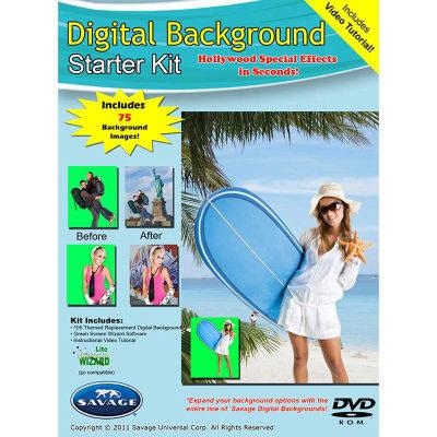 Savage Digital Background Starter Disc
