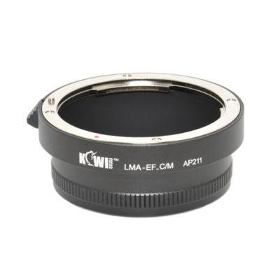 Kiwi Lens Mount Adapter (Canon EF naar Canon M)