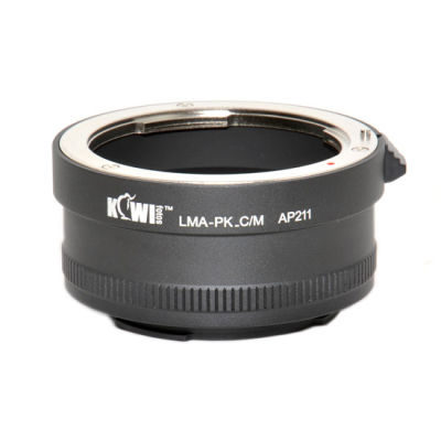 Kiwi Lens Mount Adapter (Pentax K naar Canon M)