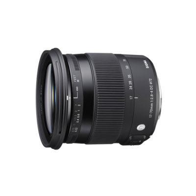 Sigma 17-70mm f/2.8-4.0 DC OS HSM Macro Contemporary Nikon objectief