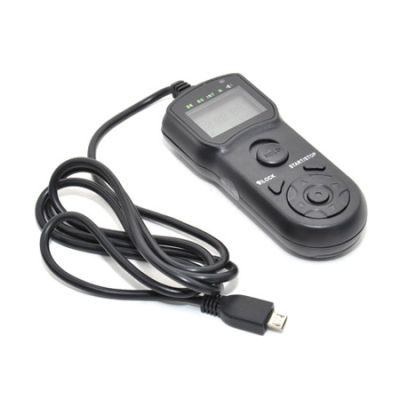 JJC TM-N Wired Timer Remote Control