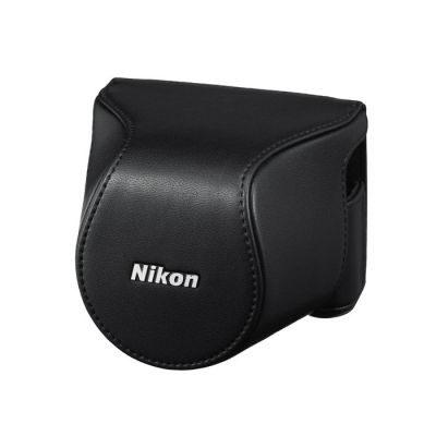 Nikon CB-N2200S Lederen Systeemtas Zwart