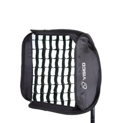 Visico EasyBox EB-063 Flashgunholder met grid (60 x 60cm)