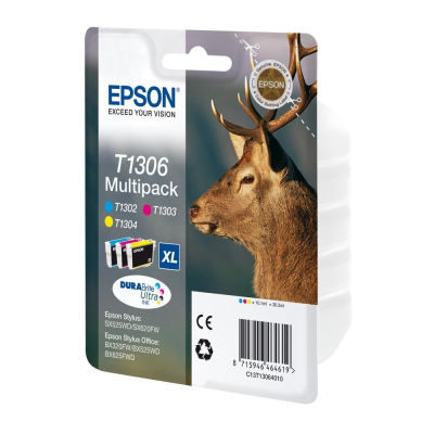 Epson Inktpatroon T1306 Tri-colour