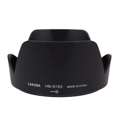Caruba HB-N102 zonnekap Zwart