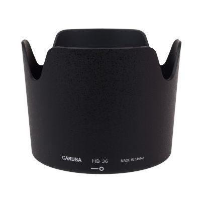 Caruba HB-36 zonnekap Zwart