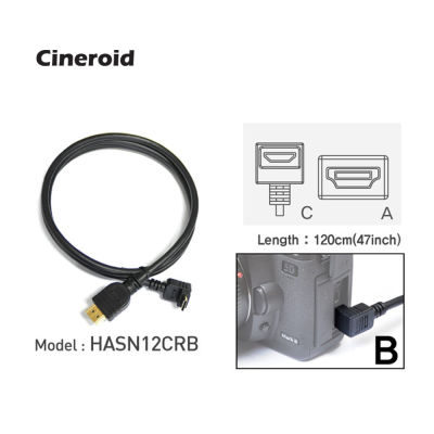 Cineroid HDMI Cable HASN12CRB