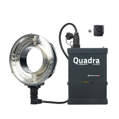 Elinchrom Ranger Quadra Hybrid Lead Set - ECO-RQ Ringflash in koffer