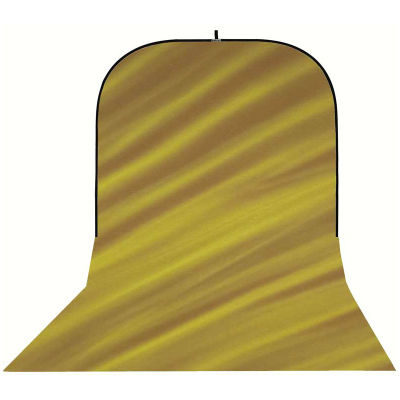 Botero Opvouwbare Achtergrond 250 x 500cm (Brown/Yellow nr.081)