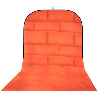 Botero Opvouwbare Achtergrond 250 x 500cm (Brick Orange nr.072)