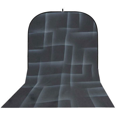 Botero Opvouwbare Achtergrond 250 x 500cm (Black/White nr.062)