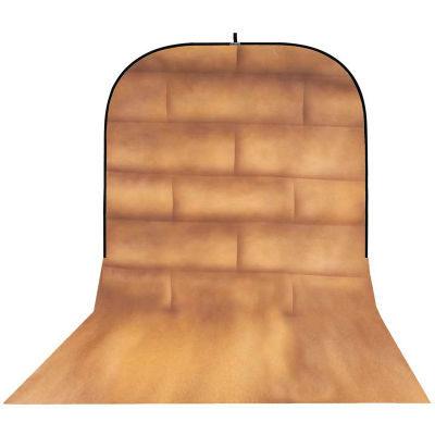 Botero Opvouwbare Achtergrond 250 x 500cm (Brick Brown/Beige nr.057)