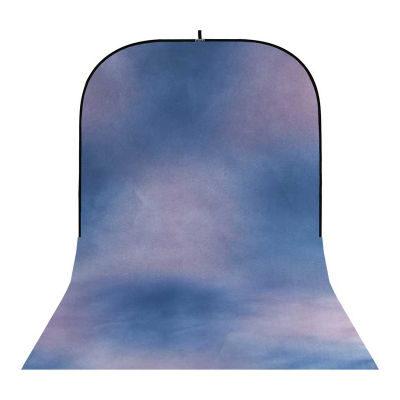 Botero Opvouwbare Achtergrond 250 x 500cm (Blue, Violet nr.048)