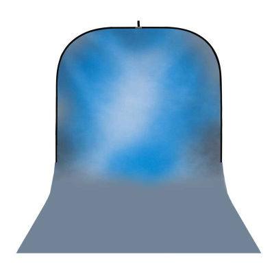 Botero Opvouwbare Achtergrond 250 x 500cm (Blue nr.045)