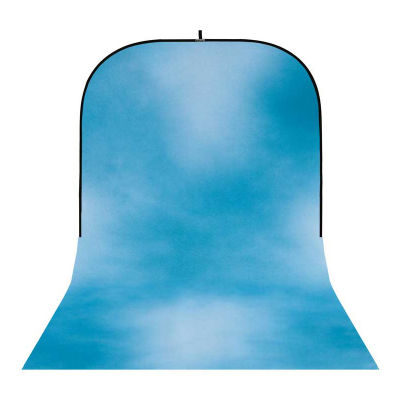 Botero Opvouwbare Achtergrond 250 x 500cm (Dark, Light Turquoise nr.031)