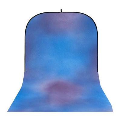 Botero Opvouwbare Achtergrond 250 x 500cm (Blue, Violet nr.028)