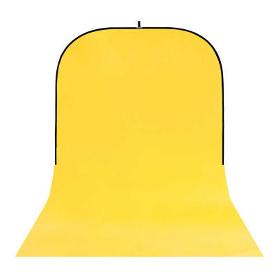 Botero Opvouwbare Achtergrond 250 x 500cm (Yellow nr.025)