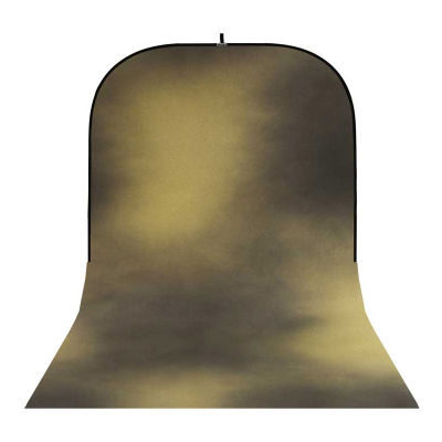 Botero Opvouwbare Achtergrond 250 x 500cm (Black, Yellow nr.016)