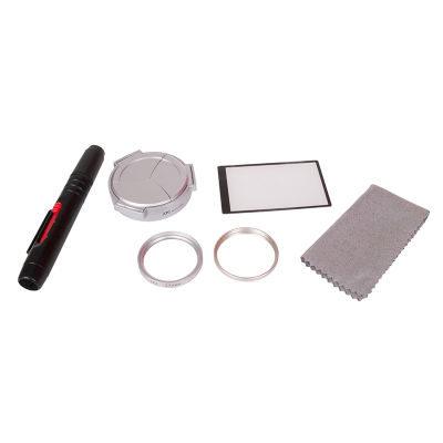 Kiwi Accessoire Kit voor Panasonic DMC-LX7 - Zilver