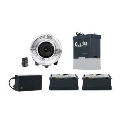 Elinchrom Ranger Quadra Hybrid RX + Eco Ringflash + Accu (10404.L)