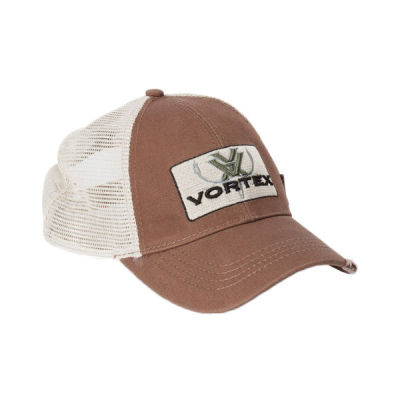 Vortex Brown Elk Logo Cap