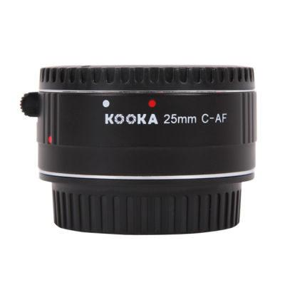 Kooka Extension Tube 25mm Canon Chroom