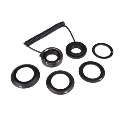 Kooka Inverse Extension Tube set Canon Aluminium