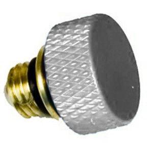 Nodal Ninja Advanced Rotator Detent Plunger Knob (FDPK) - Silver