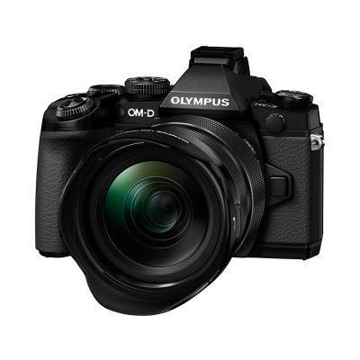 Olympus E-M1 systeemcamera Zwart + 12-40mm