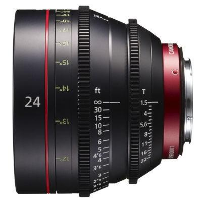 Canon CN-E 24mm T1.5L F (Meter) objectief