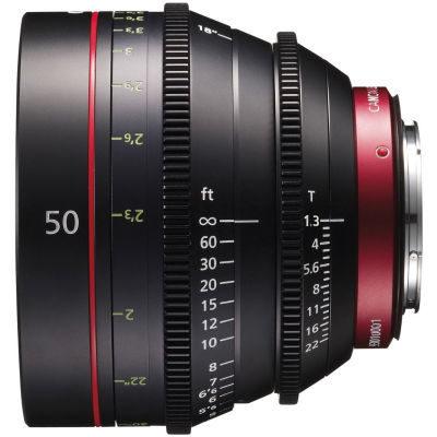 Canon CN-E 50mm T1.3L F (Meter) objectief