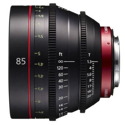 Canon CN-E 85mm T1.3L F (Meter) objectief