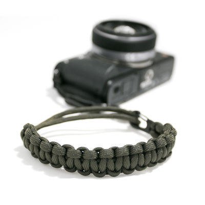 DSPTCH Camera Wrist Strap - Mat Olive/Matte Black