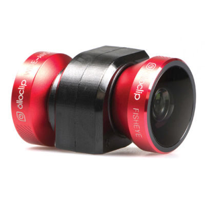 Olloclip 4-in-1 Lens System voor Apple iPhone 5/5s Rood/Zwart